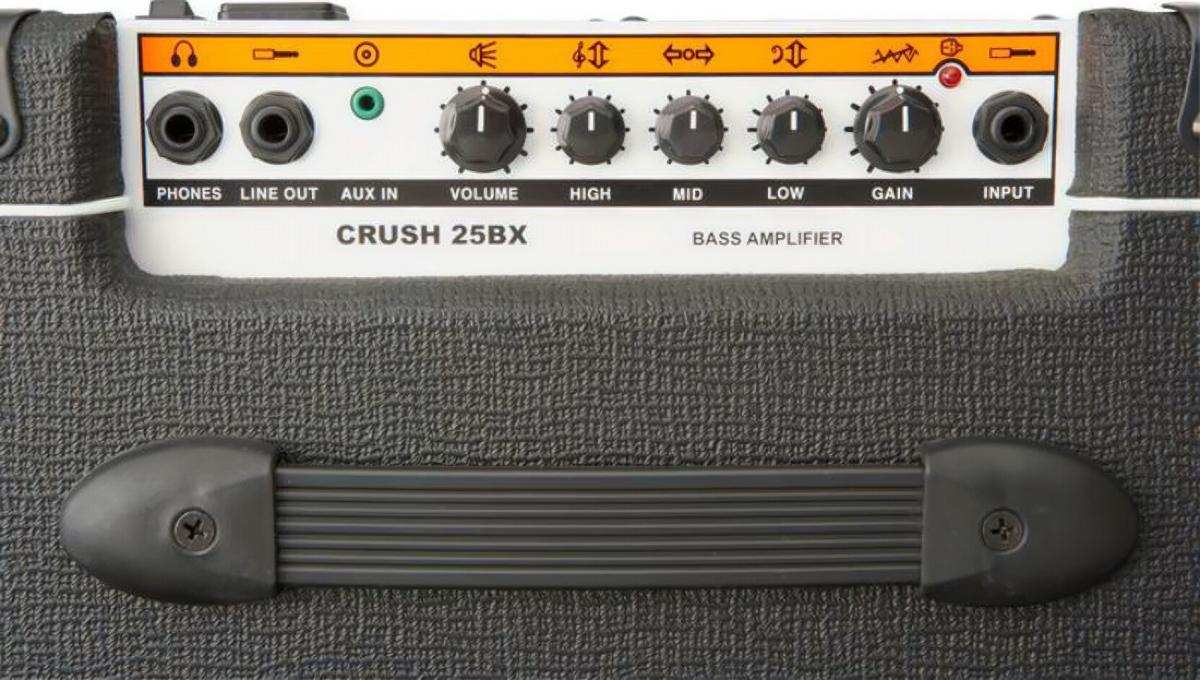 Orange CR-25BX-BLK